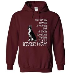 BOXER MOM T Shirts, Hoodies. Check price ==► https://www.sunfrog.com/Pets/BOXER-MOM-5284-Maroon-18797126-Hoodie.html?41382