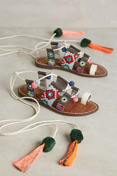 Sam Edelman Gretchen Gladiators Novelty Sandals #anthrofave