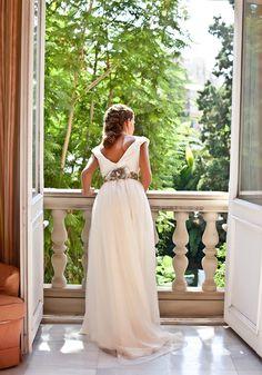 vestidos de novia de tul