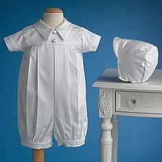 Keepsake® Christening Romper Gown - Newborn Boy - jcpenney