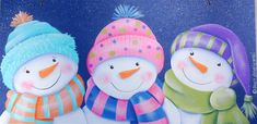Three Wise Snowmen