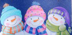 Three Wise Snowmen