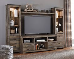 Trinell 4pc Entertainment Center - Kensington Furniture - 2