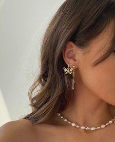 Ear Jewelry, Cute Jewelry, Jewelry Accessories, Fashion Accessories, Jewlery, Bold Jewelry, Dainty Jewelry, Trendy Jewelry, Summer Jewelry