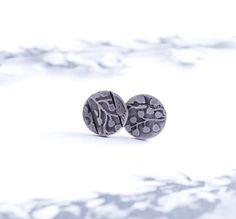 MEADOW  silver earrings by OYRZANOWSKA on Etsy