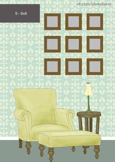 ideas para decorar con cuadros y fotos