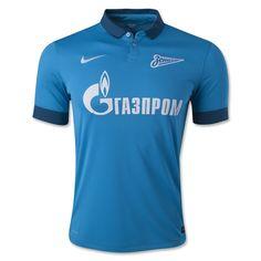 aa13c2b84d Zenit St. Petersburg 14 15 Home Soccer Jersey