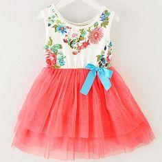 BABY GIRL SUMMER FLORAL DRESS