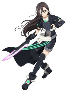 Original character design by abec for the Sword Art Online