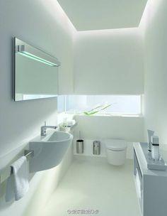 Super white bathroom