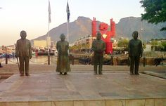 The Nobel Peace Prize Monument on Cape Town's V&A Waterfront. V&a Waterfront, Nobel Peace Prize, Holiday Accommodation, Tour Operator, Mediterranean Sea, African Safari, Cape Town, Continents, Asia