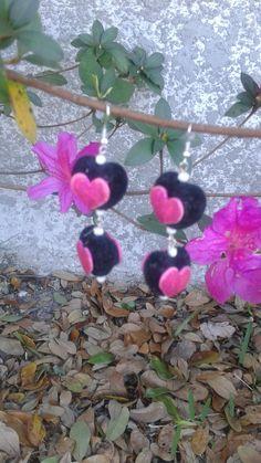 V03 Valentine earrings by RettasBoutique on Etsy