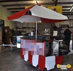New Listing: https://www.usedvending.com/i/2011-7-Top-Dog-Deluxe-Food-Cart-/GA-Q-975L 2011 - 7' Top Dog Deluxe Food Cart!!!