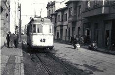 El último tranvía de Gijón, adscrito a la línea del Llano, dejó de funcionar en mayo de 1964 (AMG)