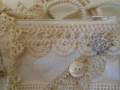 Vintage Lace Bag <3
