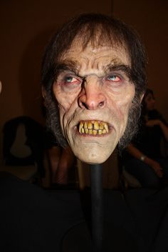 Jordu Schell's wonderul Mr. Hyde seen at Monsterpalooza (April 2012, Burbank, Ca)