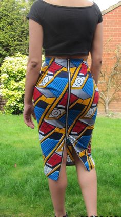A personal favourite from my Etsy shop https://www.etsy.com/listing/229102561/african-print-high-waisted-long-skirt