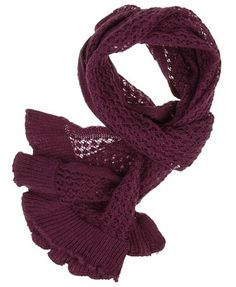 plum scarf - forever 21