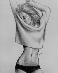 Resultado de imagen para sketch girl