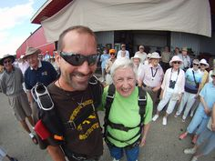 Edna, 84 yr old - Wish of a Lifetime - she wanted to skydive!