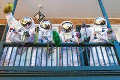 Mardi Gras Astronauts  #MardiGrasAstronauts  #MardiGras  #Astronauts  #SpaceSuits  #Kamisco