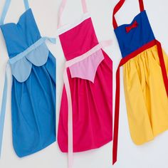 HOLIDAY SPECIAL! Disney princess classic collection dress up apron set: includes Cinderella, Sleeping Beauty, and Snow White