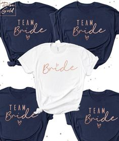 Bachelorette Party Shirts, Team Bride Shirts, Bride shirt, Bride Squad T-shirts, Heart Arrow, Bachelorette T-shirts, Bridal Party T-shirts Welcome to Rose Gold. We appreciate you being here and are ready to create super cute and high quality shirts for you and your Bride Squad. ADD TEXT ON THE Disney Bachelorette, Bachelorette Party Shirts, Bachelorette Weekend, Team Braut Shirts, Bridal Party Shirts, Hen Party Tshirts, Party Wedding, Wedding Shirts, Table Wedding