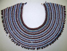 Collar (Ingqosha). South African, Xhosa or Mfenge people, ca. 1870