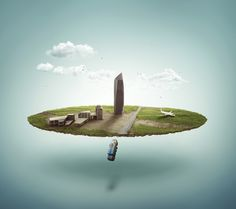Создание заброшенного миниатюрного города