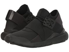 adidas by Yohji Yamamoto Qasa Elle Lace Sneakers Mode, Best Sneakers, Sneakers Fashion, All Black Sneakers, Bike Shoes, Shoe Boots, Shoe Bag, Women's Shoes, Yohji Yamamoto Shoes