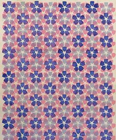 Raoul Dufy, pattern from the Bianchini collection.  https://www.pinterest.com/unidune/textile-raoul-dufy/