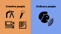 8 Illustrations Showing How Creative People Are Different From The Rest