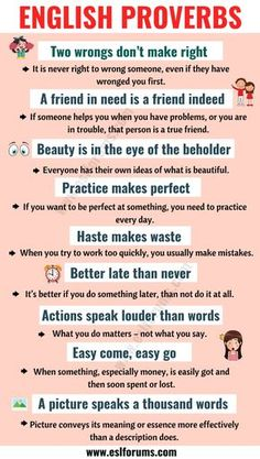 Top 30 English Proverbs and Their Meanings Everyone Should Learn! - ESL Forums