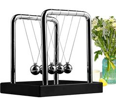 Home Newtons Cradle Balance Ball Timeless Swing Children Learning Education Toy Kids Desk Decor Gift Physics Classic Science Fun Toy Sales Of Quality Assurance