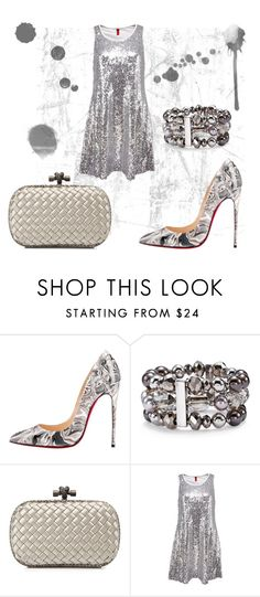 """Untitled #300"" by srlangley ❤ liked on Polyvore featuring Christian Louboutin, Chico's and Bottega Veneta"