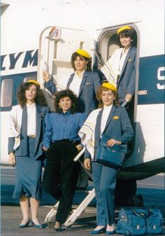 Olympic Airlines, European Airlines, Trolley Dolly, Airline Cabin Crew, Airline Uniforms, Commercial Aircraft, Flight Attendant, Popular Culture, Airplanes