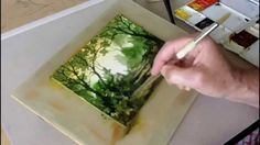 A speeded-up watercolour demonstration showing how I paint a woodland watercolour scene. Click http://johnsalmonwatercolours.co.uk to see more of my watercol...
