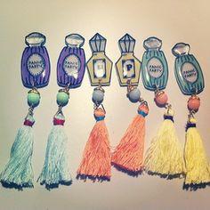 プラ板 Crystal Jewelry, Crystal Beads, Crystals, Shrink Art, Shrink Film, Crafts To Do, Diy Crafts, Plastic Board, Diy Sofa