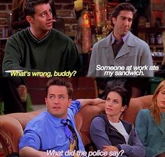 "When Ross was just being way too Ross. | 29 Of The Most Perfect Responses That Ever Happened On ""Friends"""