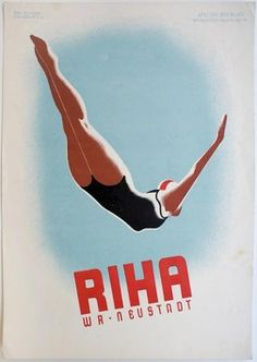 Original vintage poster of the weekend: summer is coming