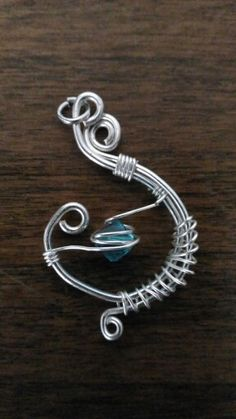 Ciondolo wire #ciondoli #verdeacqua #wire #handmade #green #jewelry