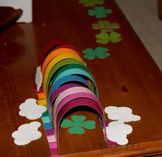 Lucky Rainbow Leprechaun Trap  This is so fun and clever your family will LOVE it! You dont even have to be Irish!  Set up your beautiful rainbow and
