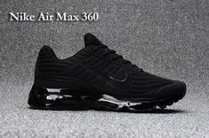 big sale 7a4cd 48329 Nike AIR MAX 360 KPU Men All Black 40-47