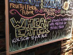 Chalkboard menus (beer). Cincinnati. By Aislinn S.B.