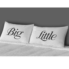 Big/Little Pillow Case Set - Sorority Must Haves - Greek $28 Great for Big/Lil Reveal Items