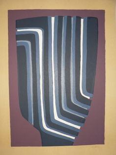 Raoul Ubac - Sans titre, 1989, Lithographie,   Dimension de l'image 71,0 x 52,0 cm / 27.9 x 20.5 in  Dimension du Papier 71,0 x 52,0 cm / 27.9 x 20.5 in