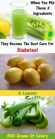 When You Mix These 2 Ingredients They Become the Best Cure for Diabetes! - Home Health Solution