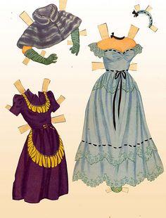 1950 June Allyson paper doll clothes #16 / eBay