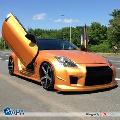 Total wrapping with Gold Matt Metal #apafilms #apavinyl #apafolie #apastickers #carwrapping #carfoil #carwrap #selfadhesive #goldwrap #mattesfoil