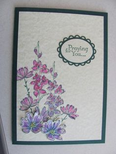 Praying for You by SilverSnow - Cards and Paper Crafts at Splitcoaststampers